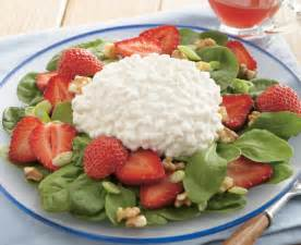 strawberry spinach cottage cheese salad brand