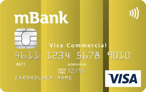 m bank visa business card mbank best business cards