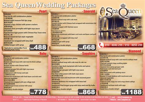 crc penang new year menu wedding bells are ringing at sea restaurant straits