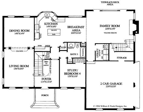colonial floor plans of houses home design and style
