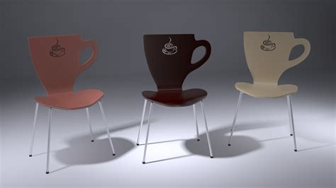 Coffee Max chair cup coffee free 3d model max cgtrader