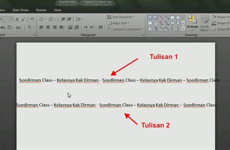cara membuat powerpoint read only cara membuat tulisan text berjalan pada power point