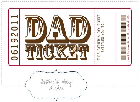 printable tickets and coupons free printables online coupon sahm i am free printable fathers day coupon book
