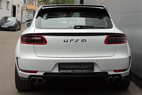 porsche macan white white porsche macan ursa by topcar for sale autoevolution