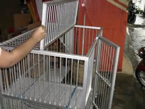 Kandang Kucing Aluminium Tingkat 3 kandang kucing