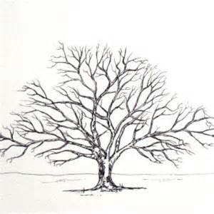 Designer Trees - friends family tree takes 15 fingerprints oak