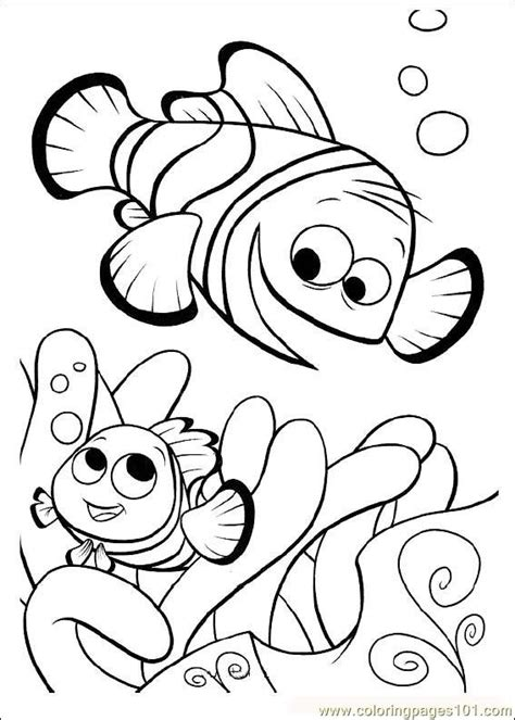 coloring pages finding nemo01 cartoons gt finding nemo