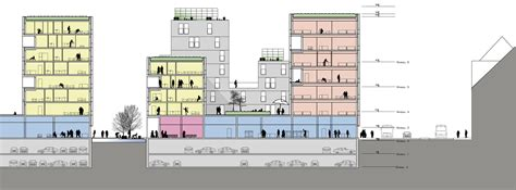 mall sections masterplan dsb areas and bus terminal in aarhus