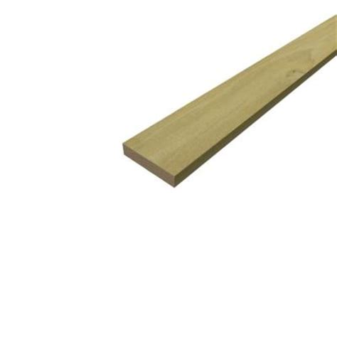 sure wood forest products 1 in x 4 in x 10 ft s4s