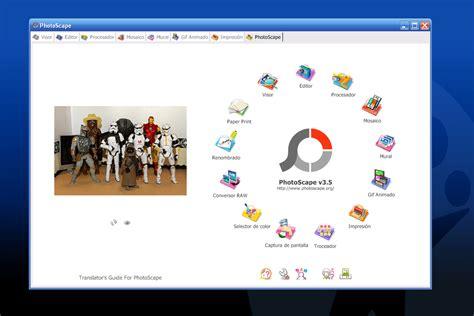 editor de imagenes vectoriales gratis photoscape descargar
