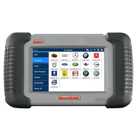 AUTEL® MaxiDAS® Automotive Diagnostic and Analysis System