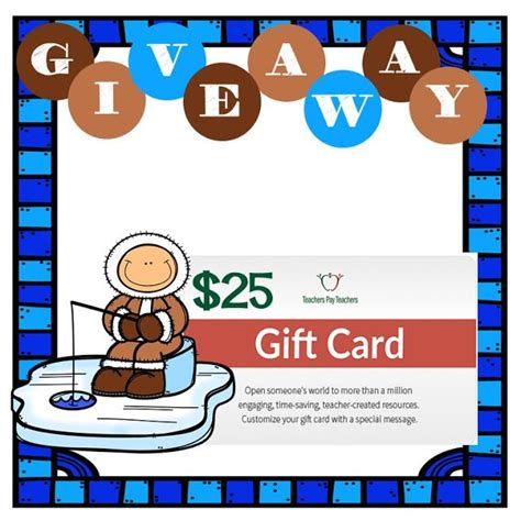 Teacher Giveaways - 17 best images about giveaways and contests on pinterest teacher pay teachers gift