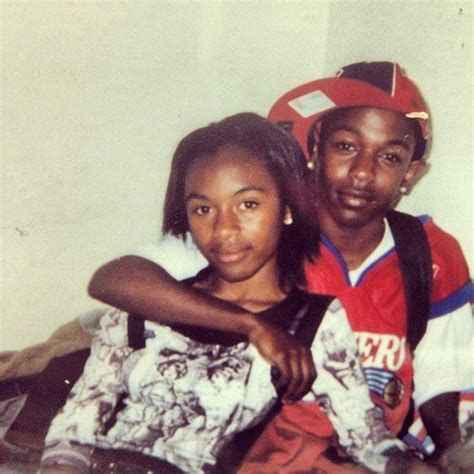kendrick lamar you boo boo guess which rapper this was boo d up at 13 years old