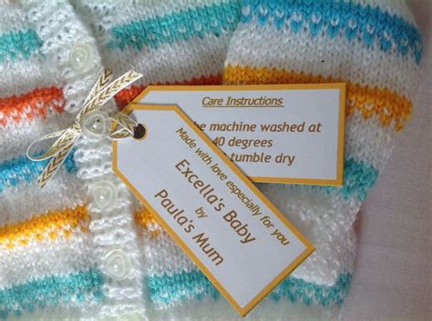 Handmade Labels For Knitting - the 87 best images about labeling handmade items on