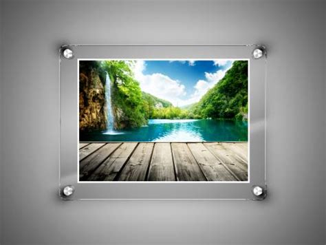frameless photo glass frame frameless frame post frame