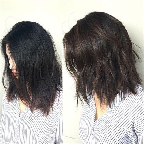 textured lob straight haircuts textured lob 153 best chelsea ferguson hair