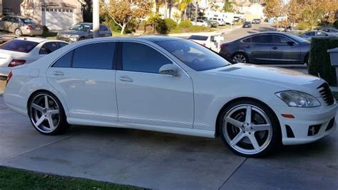 K 46 Wheels Sling White 2008 2008 mercedes s63 white w black interior low condition 10 10