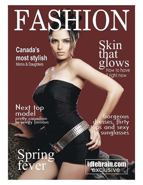 design for magazine cover portfolio magazine cover design