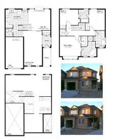 Elevation And Floor Plan Of A House by Our House