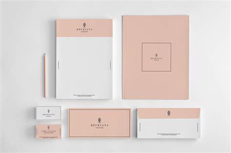printable stationery set stylish stationery set on behance