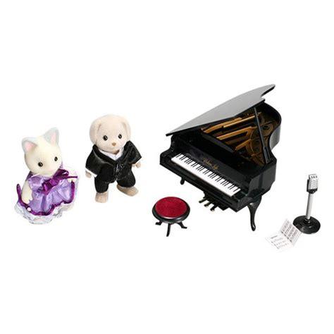 Sylvanian Families Piano Set sylvanian families ballroom grand piano set the dolls
