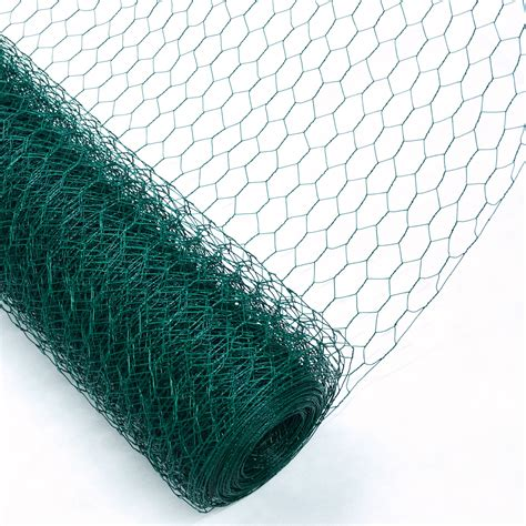 woodside pvc coated chicken wire fencing outdoor value