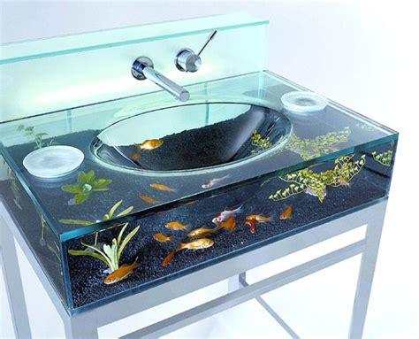 Spiral Kitchen Faucet by 22 Unusual And Creative Aquariums Bored Panda