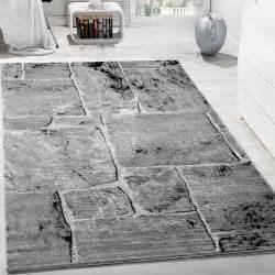 stylische teppiche designer teppich modern trendig meliert steinoptik mauer