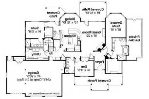 Craftsman Homes Floor Plans by Craftsman House Plans Cedar Creek 30 916 Associated