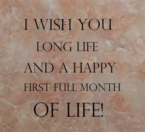 Happy 1 Month Birthday Card Happy Full Moon Baby Wishes What To Write In One Month