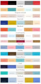 color trends wedding color palettes trending wedding design trends 2016