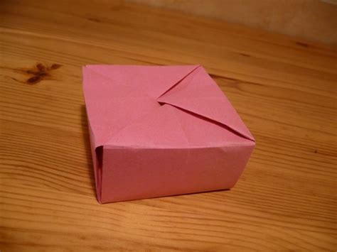 Simple Origami Box With Lid - origami box with lid easy www imgkid