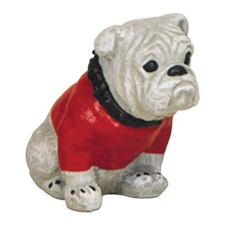 Georgia Bulldog Home Decor 8 in bulldog garden protector statue 19 064213ll the
