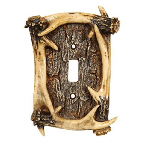 antler light switch cover antler switch covers