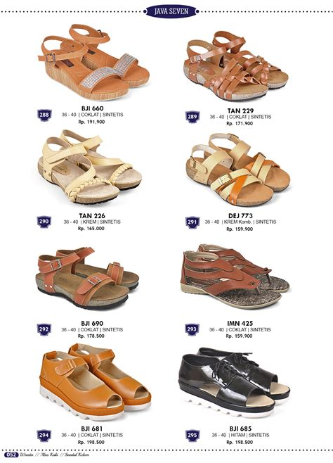 Sandal Distro Pria Branded Java 7 Erj 001 Sintetis sepatu sandal dan tas terbaru katalog java seven 2018 grosir ecer