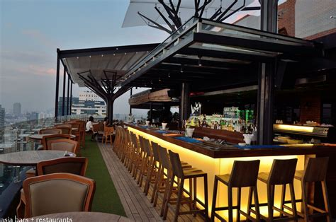 top deck restaurant above eleven rooftop bar restaurant bangkok asia