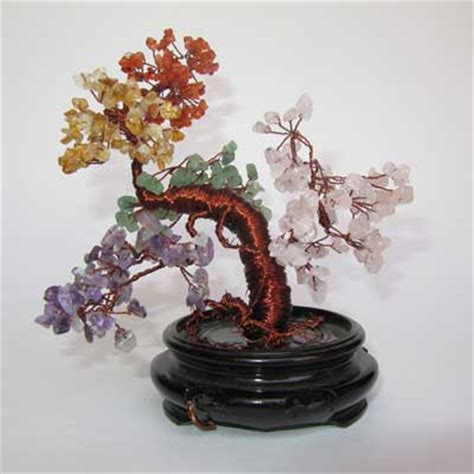 gemstone tree sculpture copper gemstone tree sculpture