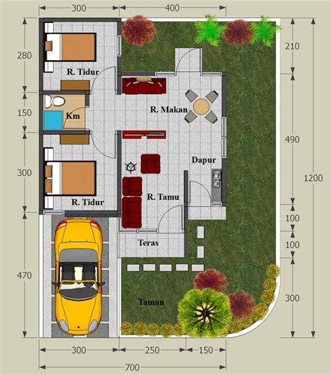 image minimalist house plan type  rumah rumah minimalisku