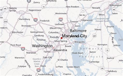 maryland map cities towns maryland city location guide
