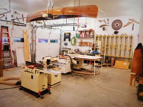garretts garage wood shop  wood whisperer