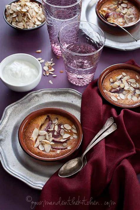 Gourmande In The Kitchen by Gratin Di Frangipane E Prugne