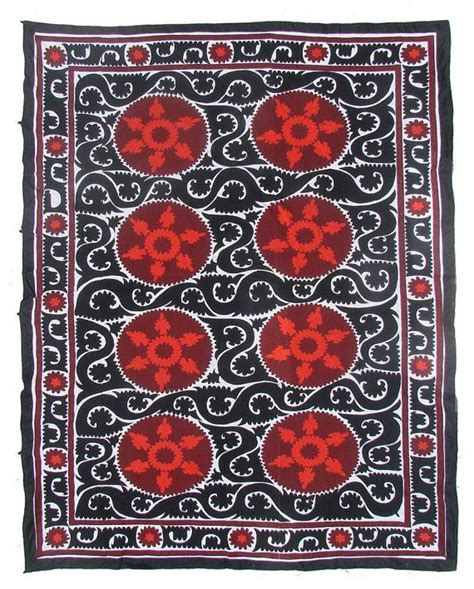 Suzani Quilt by Vintage Suzani Quilt Wall Hanging Nl1945