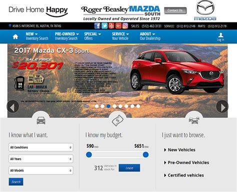 car dealership website designs