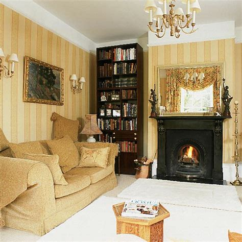 Gold Living Room Curtains Decorating Gold Ten Ideas To Decorate Your House Housetohome Co Uk
