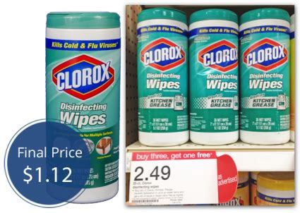 clorox wipes    target  krazy coupon lady