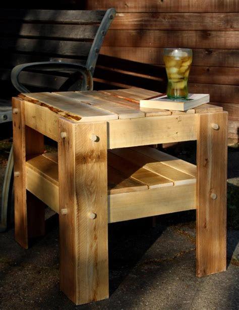 make all from wood mesinha de canto feita com pallets de madeira palletsclub