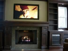 mounting a tv a fireplace wiring