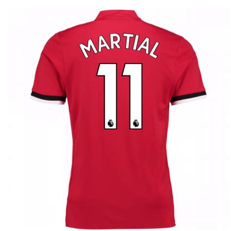 2017 2018 united home shirt martial 11 bs1214 96488