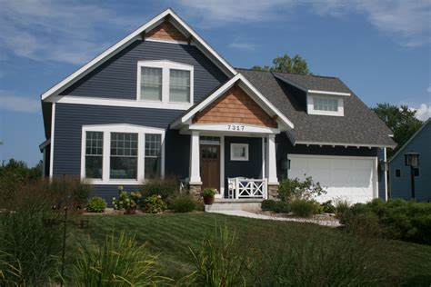 hardie board hardie board evening blue siding and cedar shake gables this is it addition ideas pinterest