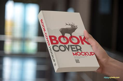 15 photorealistic paperback book cover mockups zippypixels